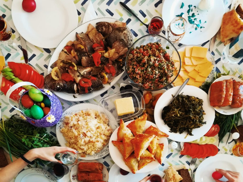 holiday feasts